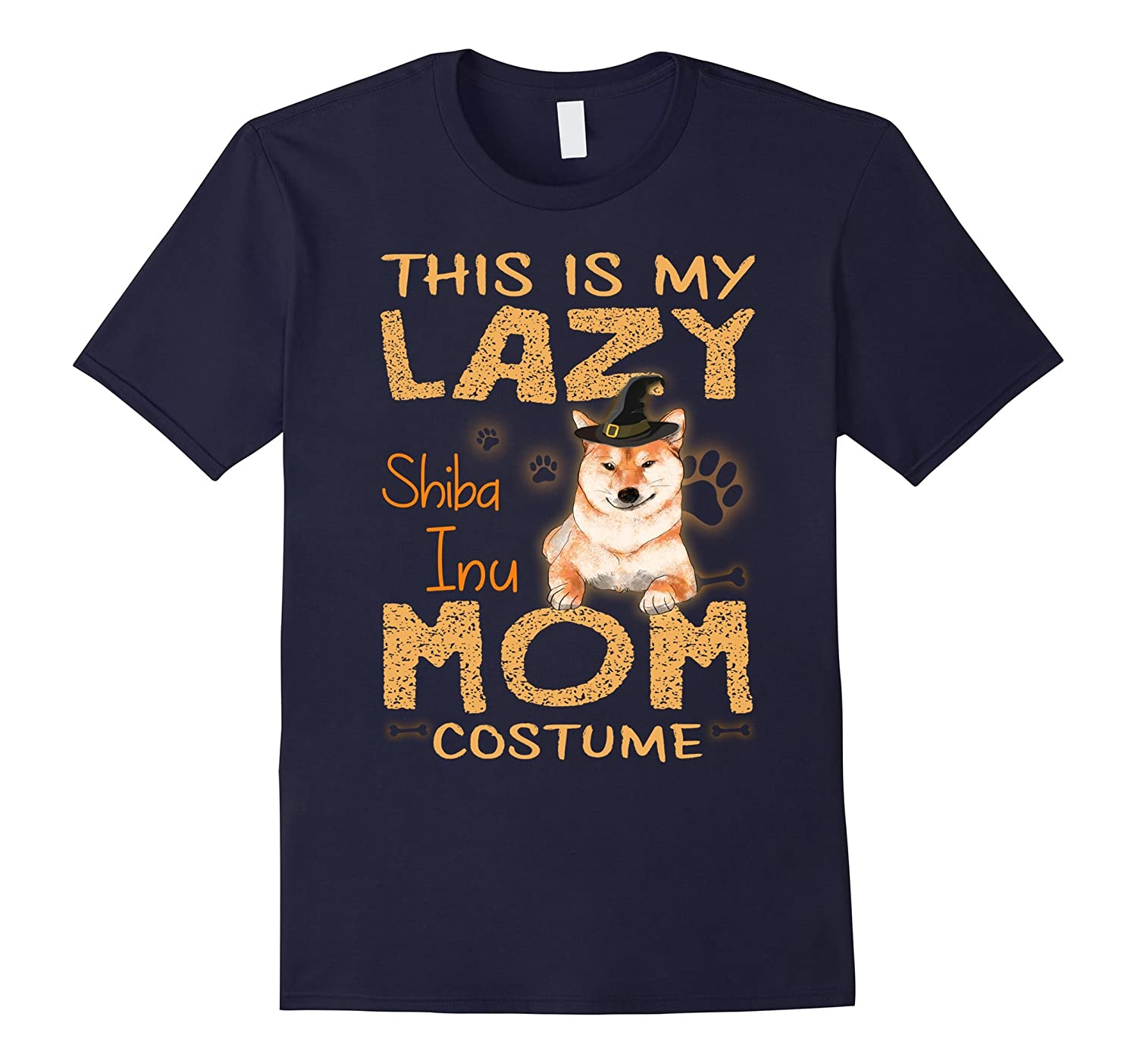 This Is My Lazy Shiba Inu Mom Costume Funny Halloween Shirt-FL