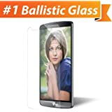 iGotTech Edge to Edge Tempered Glass TruClear Ballistic Screen Protector for LG G3