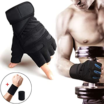 Weight Lifting Gloves Size Large For Exercise and Fitness bodybuilding gym