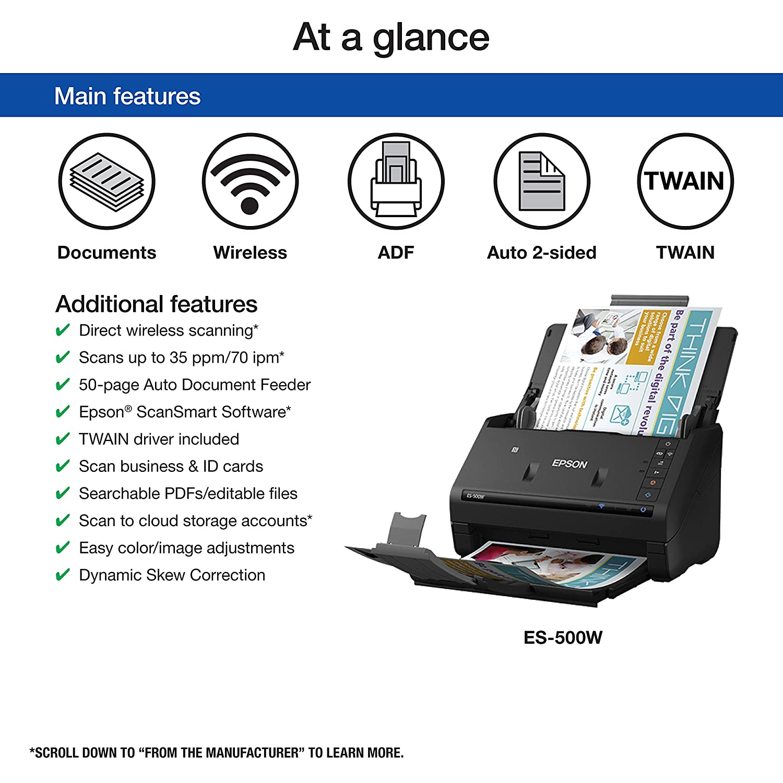Epson ES-600C Scanner TWAIN XP