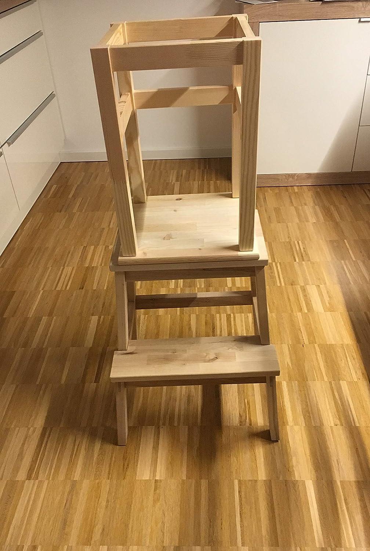 Montessori - Torre de aprendizaje para niños: Amazon.es: Bebé