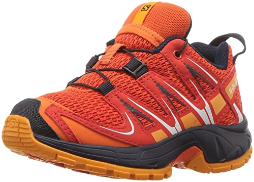 pretty nice 159e5 eb531 Salomon Unisex XA PRO 3D K Trail Running Shoe Scarlet ibis 9K M US Little  Kid