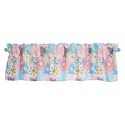 Waverly Blooms by Trend Lab Window Valance, Covering, Pink
