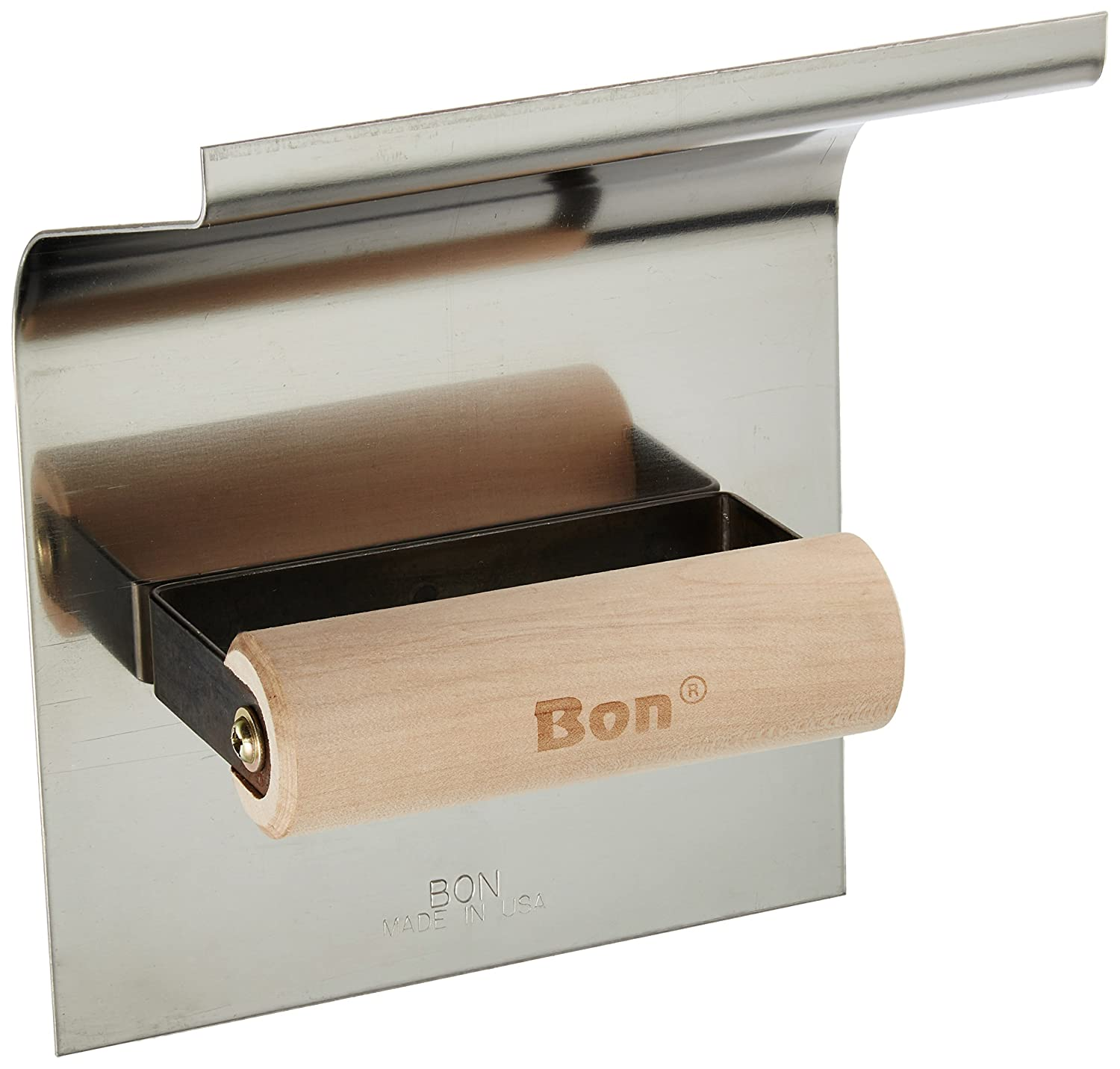 Bon 22-815 6-Inch by 6-Inch Stainless Steel Epoxy Base Tool with 1-Inch Radius and 4-Inch Lip
