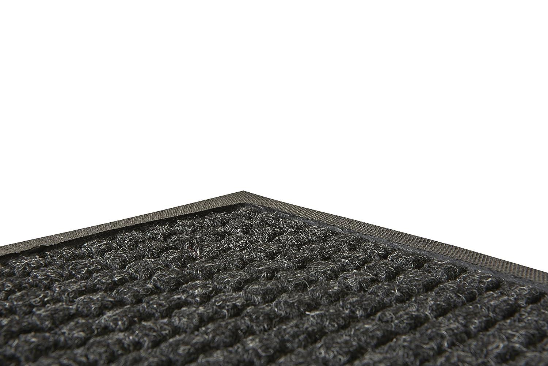 Guardian WaterGuard Indoor//Outdoor Wiper Scraper Floor Mat Rubber//Nylon 6x12 Burgundy