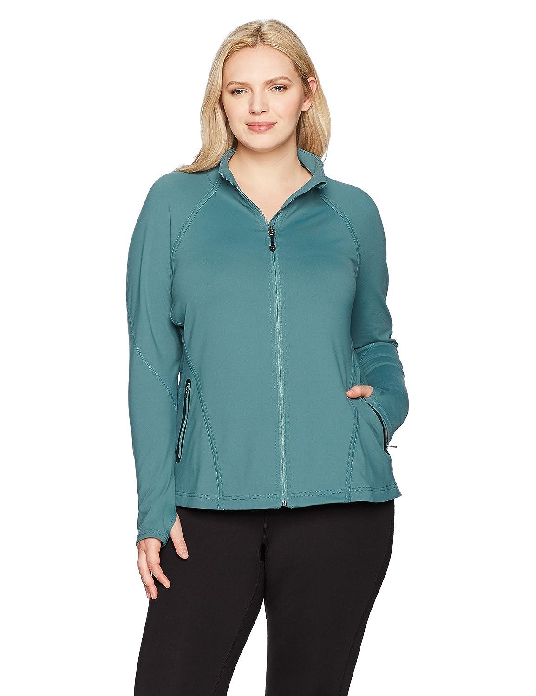775a17f813c SHAPE activewear Women s Plus Size Training Jacket at Amazon Women s  Clothing store