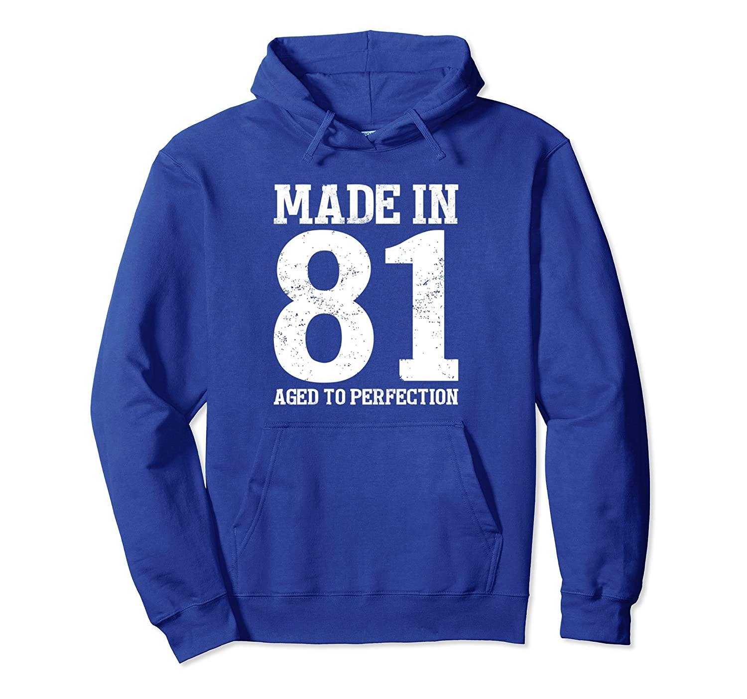 37th Birthday Hoodie Gift Mom Dad Men Women Age 37-ah my shirt one gift