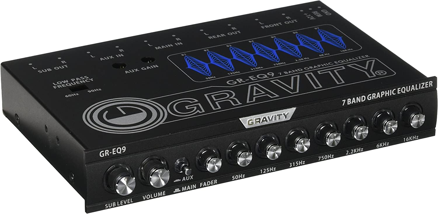Gravity 7 Band Graphic Equalizer