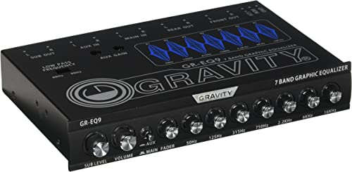 Gravity 7-Band Graphic Equalizer