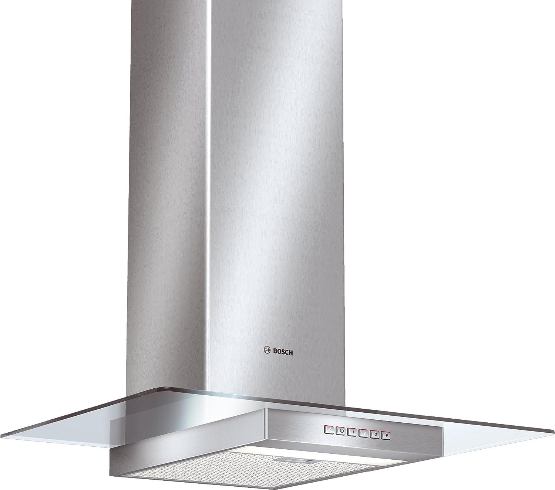 Bosch DWA073551 - Campana (Canalizado/Recirculación, 620 m³/h, 72 Db, Montado en pared, Halógeno, Plata): Amazon.es: Hogar