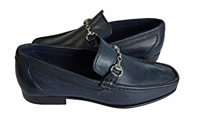"""Made in Italy """"blue"""" bit Loafer (tony-M)"""