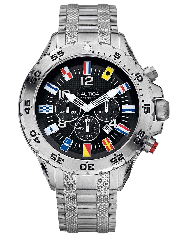 A29512g Flags Nautica Chronograph Herrenuhr Nautica nOyv80PmNw