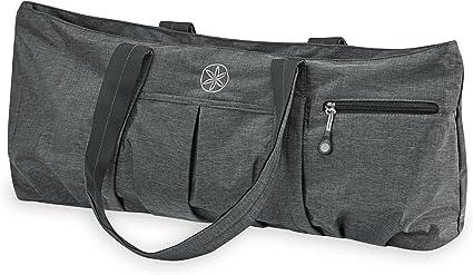 Amazon Com Gaiam All Day Yoga Tote Yoga Mat Bag Grey