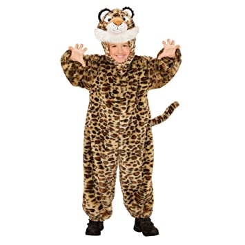 WIDMANN 98109 ? Disfraz para niños Leopard de Peluche, Mono con ...