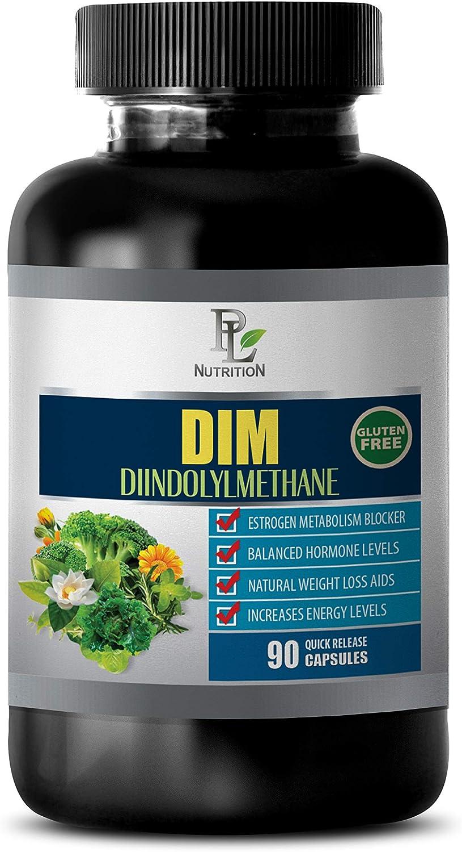 Immune System Vitamins for Women - DIM DIINDOLYLMETHANE - Estrogen Metabolism Blocker - dim Supplement Estrogen Blocker - 1 Bottle 90 Capsules