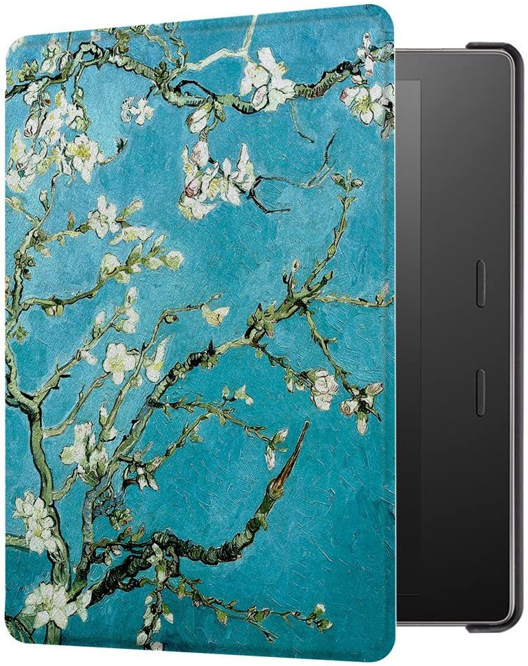 7 inches, 9th//10th Gens HUASIRU Painting Case for Kindle Oasis 2017//2019 Starry Sky Cover with Auto Sleep//Wake