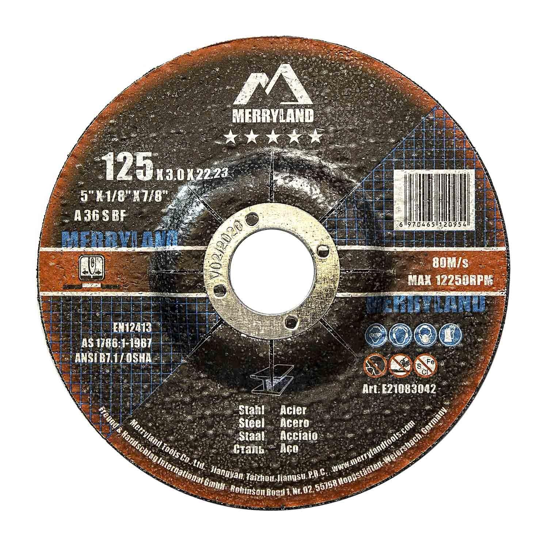 Merryland 125 X 3.0 Expert-line Cutting Disc Steel Metal Iron 25PCS