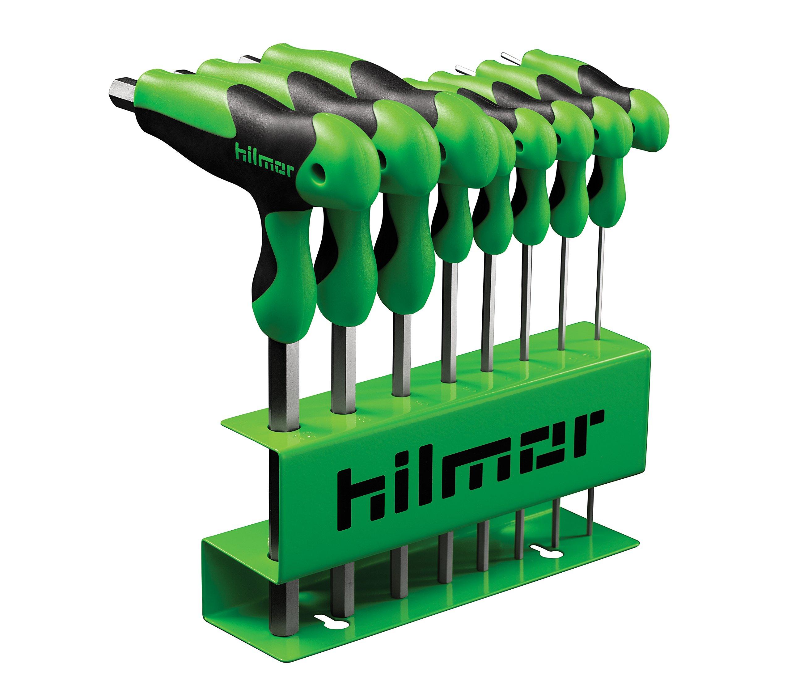 Hilmor 1937817 T-Handle Hex Key Set
