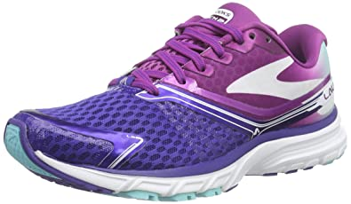 Brooks Womens Launch 2 Athletic Running Shoe, Blue/Berry/Blue Radience, US