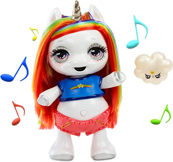 Poopsie Dancing Unicorn Rainbow Brightstar singing interactive toy for kids