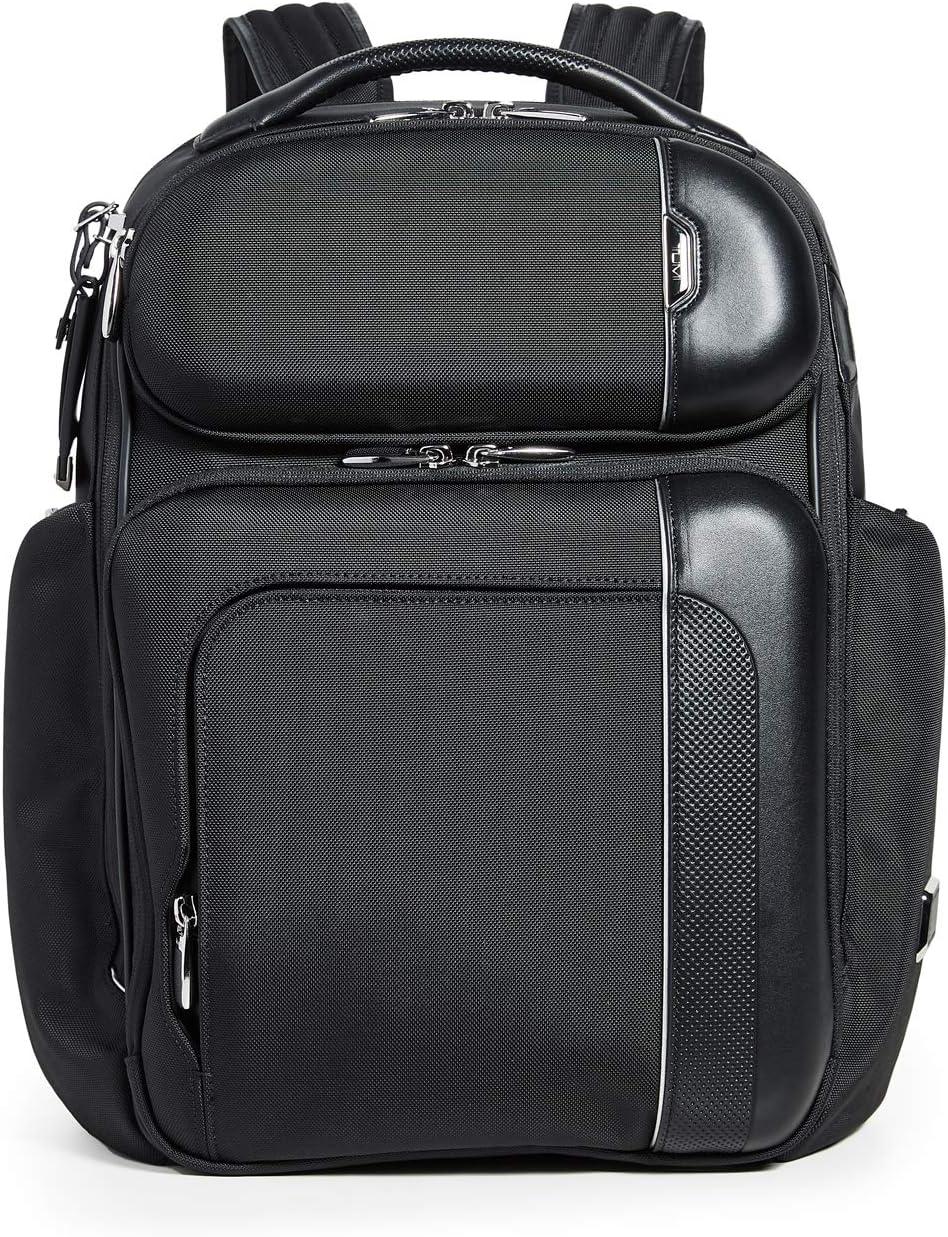TUMI - Arrivé Barker Laptop Backpack - 15 Inch Computer Bag for Men and Women - Black