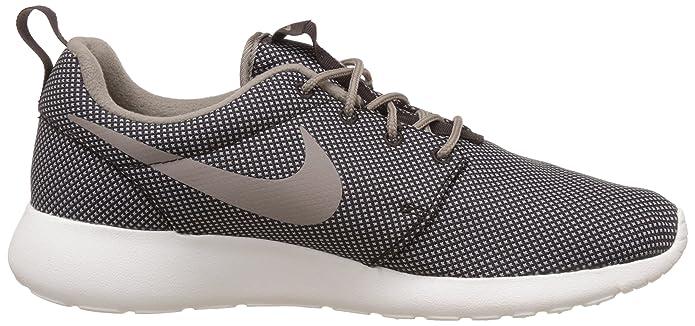 73faeddce658 Nike Men s Roshe One Premium Velvet Brown