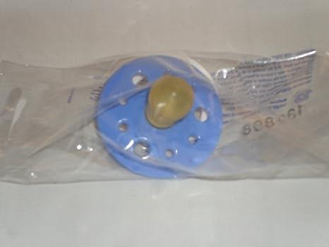 Azul bebé chupetes maniquíes BS EN 1400 látex de caucho ...