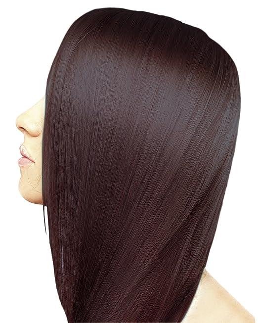 83ad9b053f5e85 Amazon.com : Ion Intensive Shine 3RV Burgundy Brown Demi Permanent Creme  Hair Color 3RV Burgundy Brown : Chemical Hair Dyes : Beauty