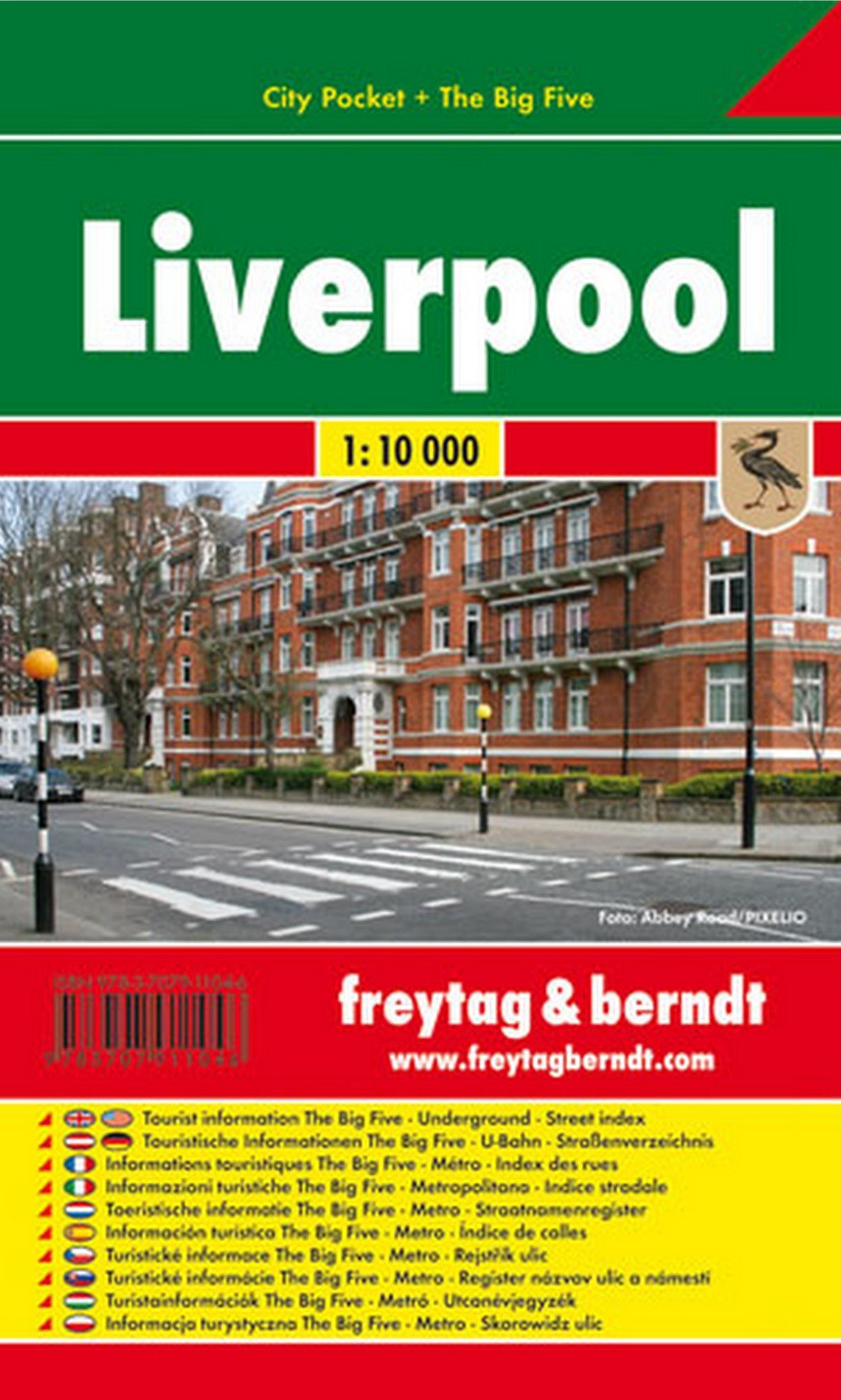 Liverpool, plano callejero de bolsillo plastificado. City Pocket. Escala 1:10.000. Freytag & Berndt. (Inglés) Mapa – Mapa doblado, 7 jul 2008 VV.AA. 3707911047 Gazetteers & Maps) Carte e atlanti geografici
