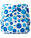 Bumberry Reusable Diaper Cover Without Insert - Blue Dots