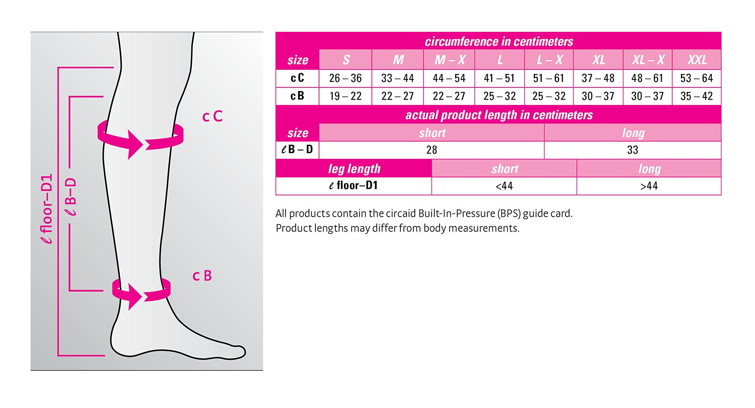 Circaid Juxta Lite Long Leggins with Anklets (Medium) by CircAid (Image #2)