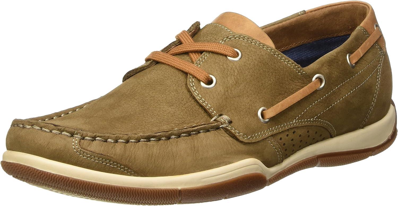 BATA Men's 8563176 Boat Shoes, Brown