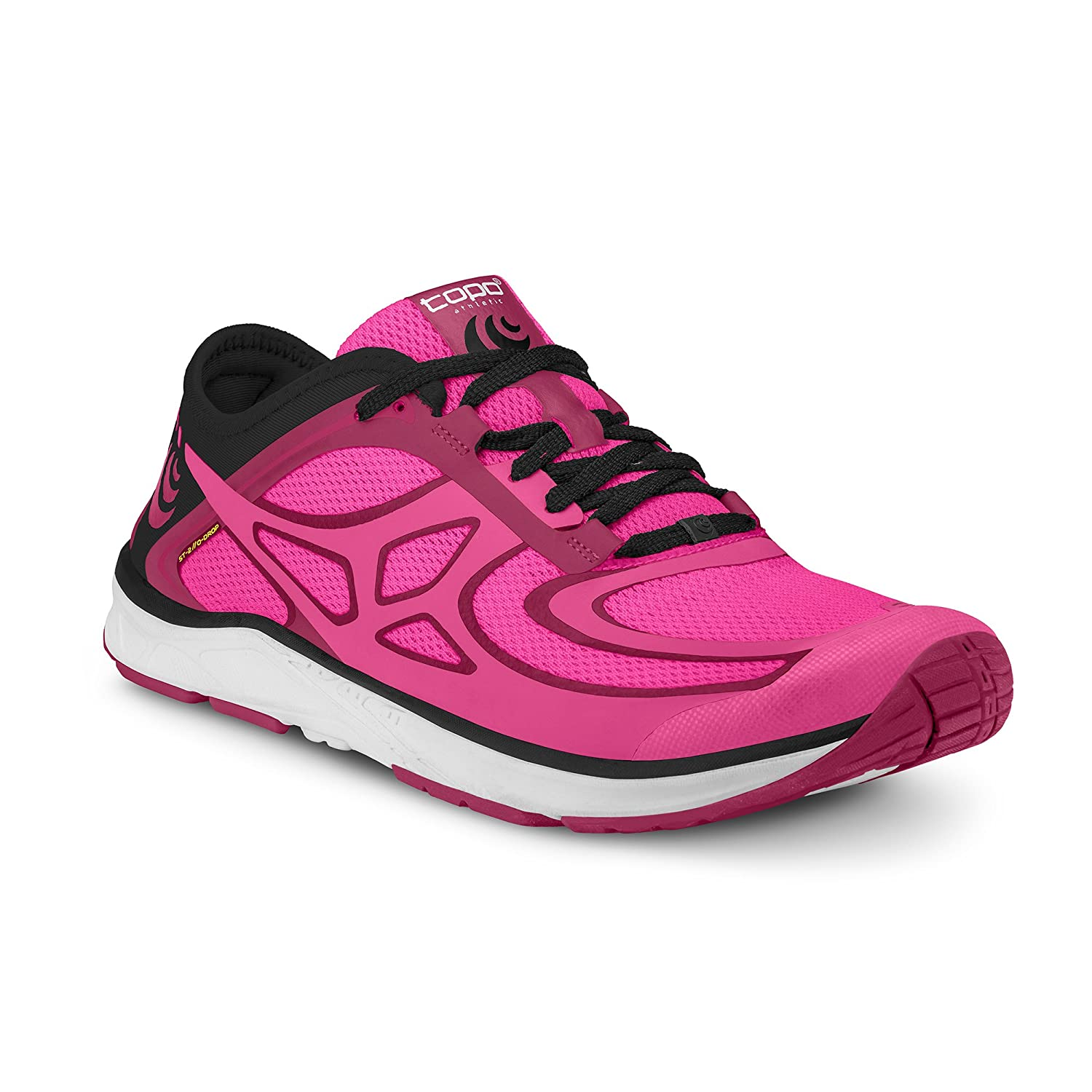 Topo Athletic Women's ST-2 Running Shoe B06ZYBGDZH 8.5 B(M) US|Fuchsia/Black