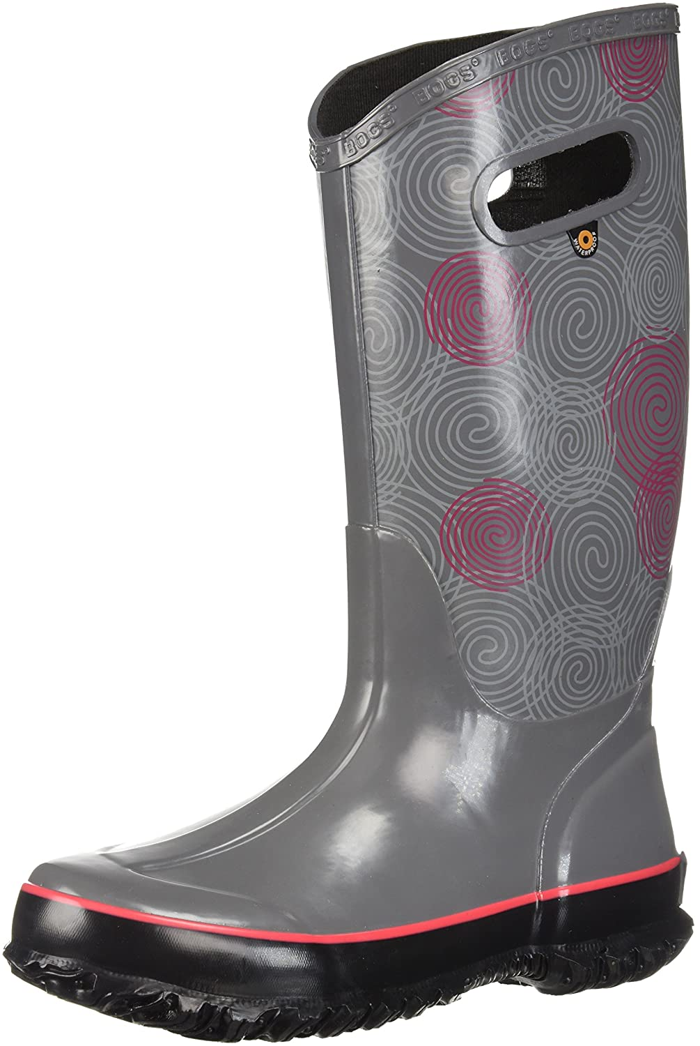 Bogs Women's Berkley Solid Rain Boot B073PK64ZW 7 B(M) US|Gray Multi