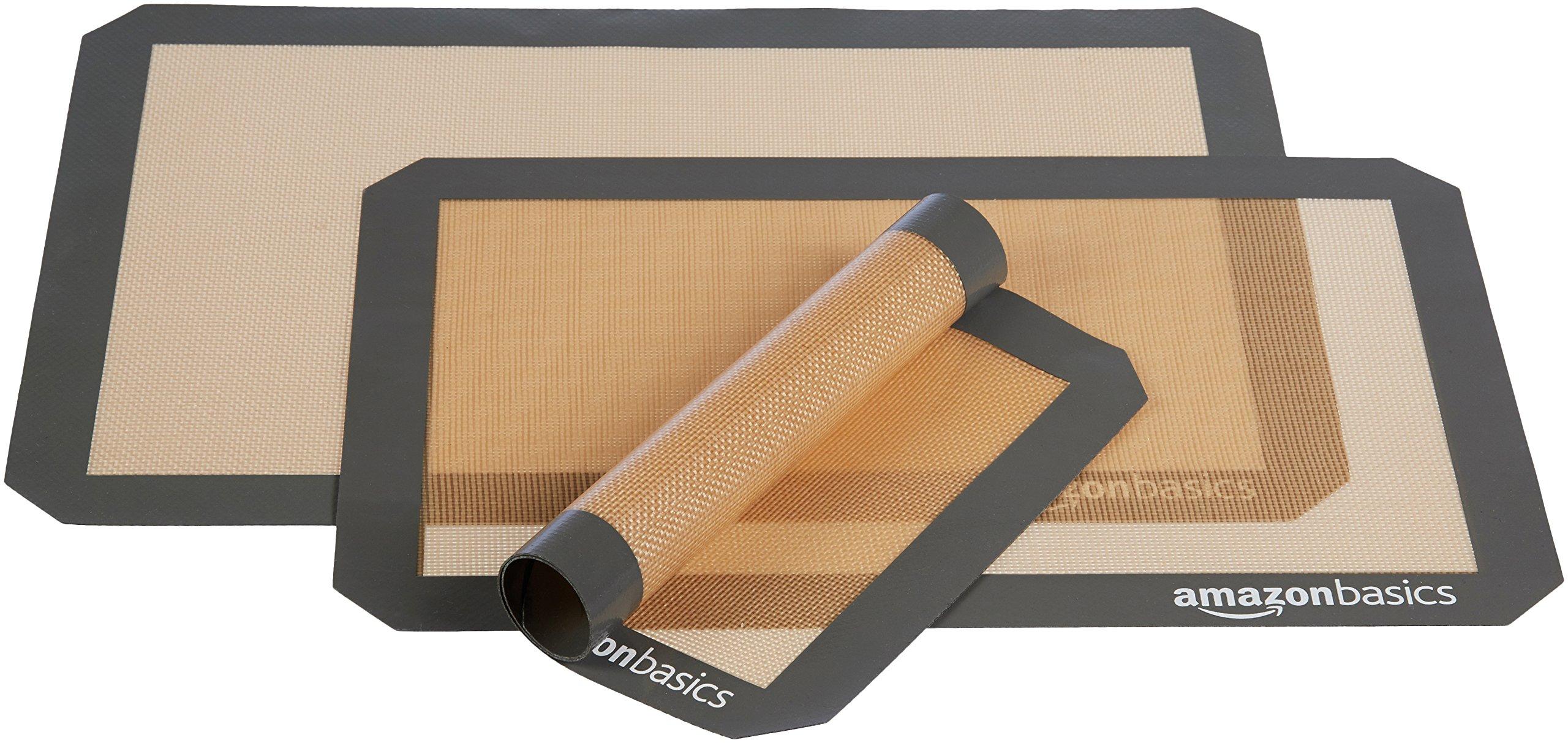 AmazonBasics Silicone Baking Mat - 3-Piece Set by AmazonBasics (Image #4)