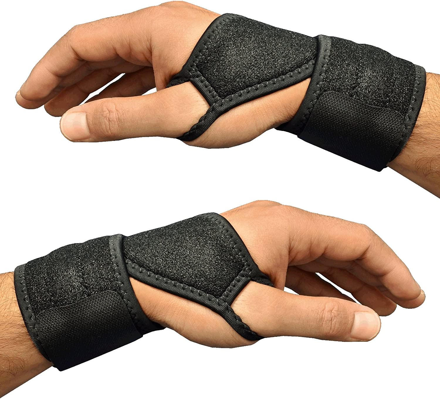 Medipaq 2X Magnetic Therapy Wrist Support Brace