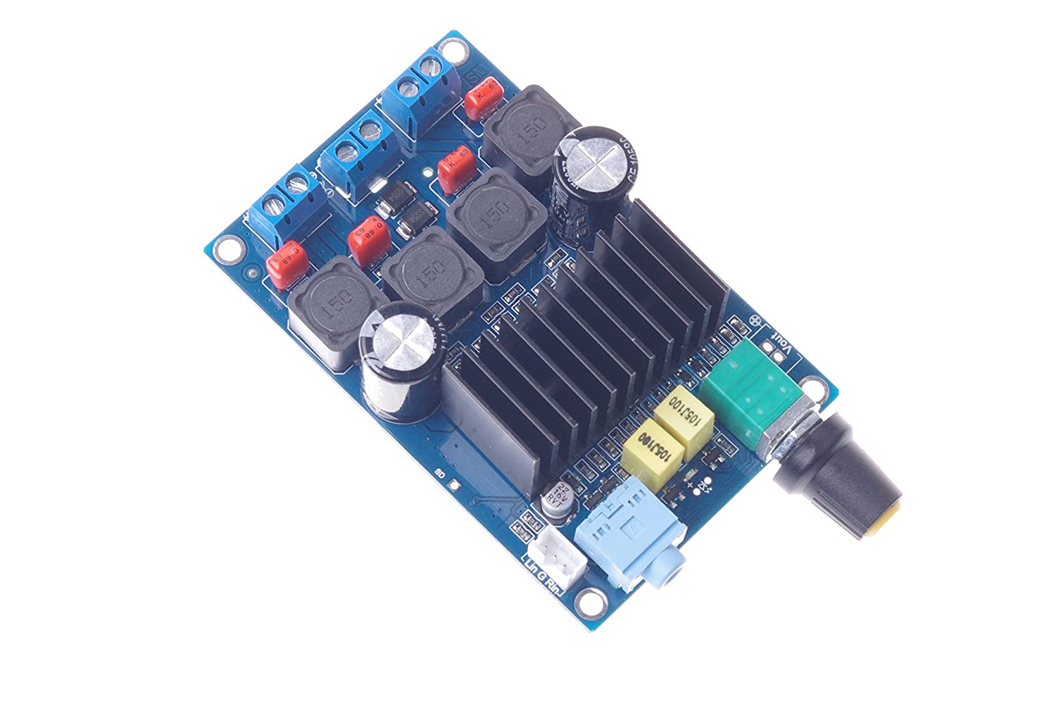 Amazon.com: SMAKNÂ TPA3116 Amplifier Board(50W+50W) D Class Amplifier Board: Electronics