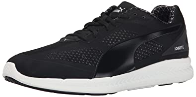 PUMA Men's Ignite PWRWARM Running Shoe, Black, ...