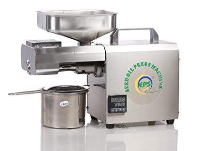 EPS TC 602 600W Stainless Steel Automatic Oil Press Machine with  Temperature Controller