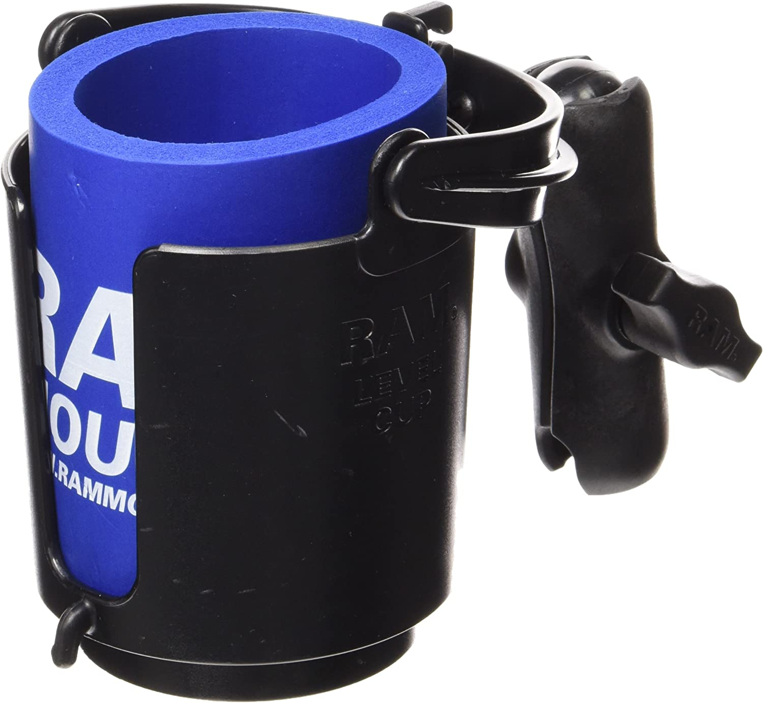 RAM Level Cup 16oz Drink Holder with Double Socket Arm
