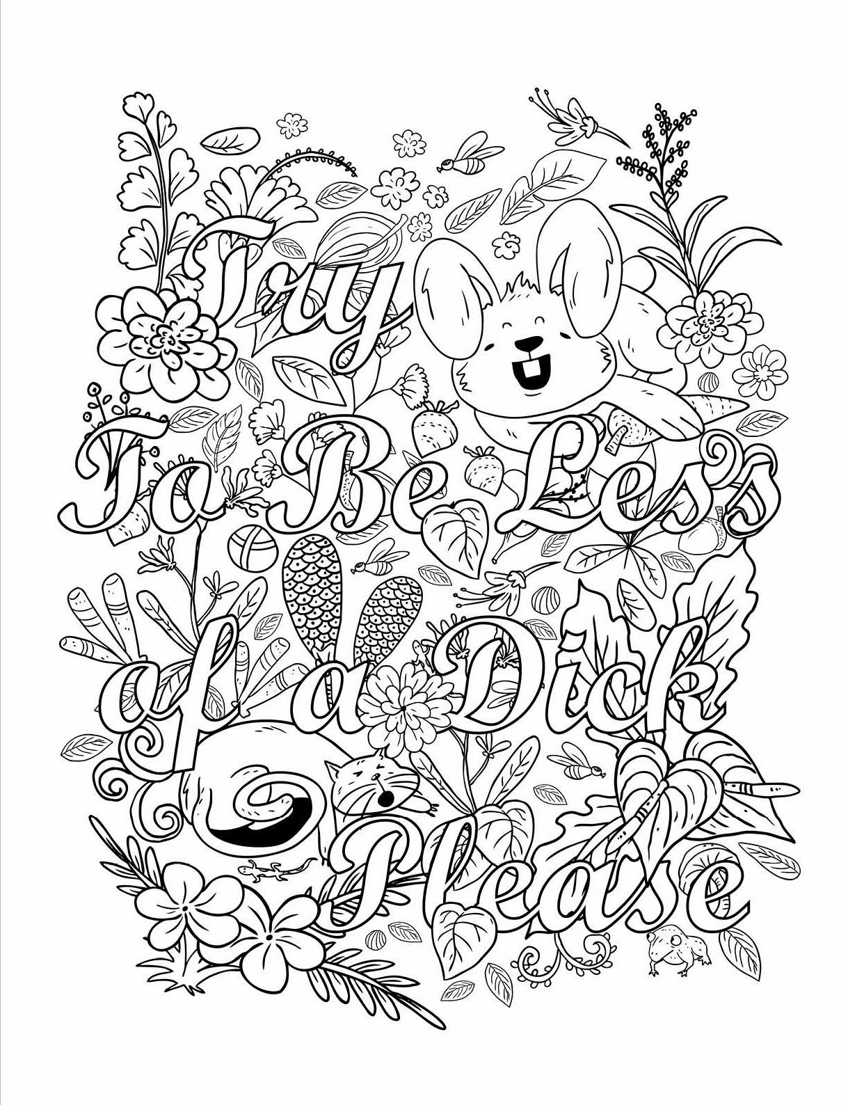 Memos To Shitty People A Delightful Vulgar Adult Coloring Book