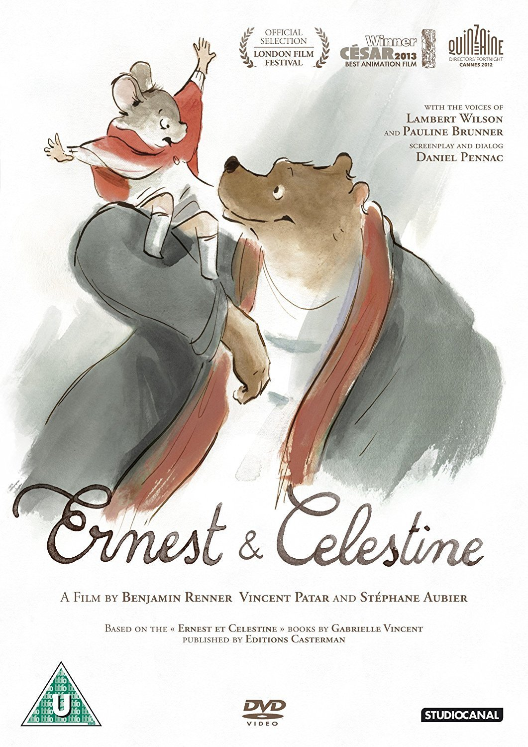 Ernest and Celestine [DVD]: Amazon.co.uk: Stéphane Aubier, Vincent ...