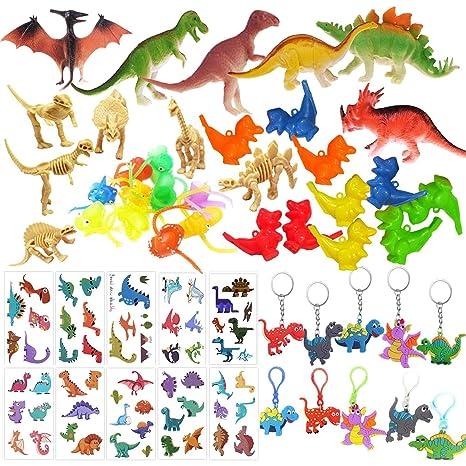 Mattelsen 52 Pcs Granel Juguetes de Dinosaurios Surtidos ...