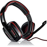 """CSL - 7.1 USB Gaming Headset """"sledgehammer"""" incl. external sound card and wired remote 