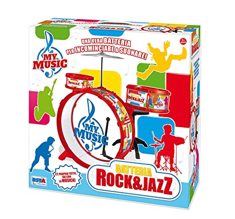 RSTA 9619 - Batteria Rock   Jazz  Amazon.it  Giochi e giocattoli 3580d260005