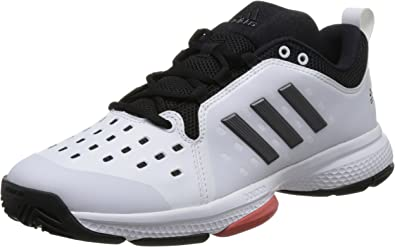 Adidas Hombres Barricade Classic Bounce Zapatillas De Tenis Zapatilla Todas Las Superficies Blanco - Negro 44 2/3: Amazon.es: Zapatos y complementos