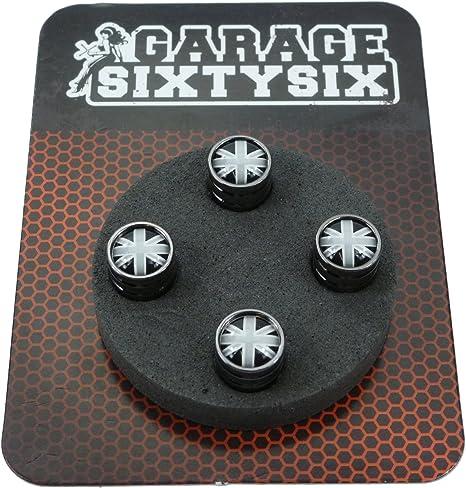 Garage-SixtySix 4/x 4/embl/ème chrome noir