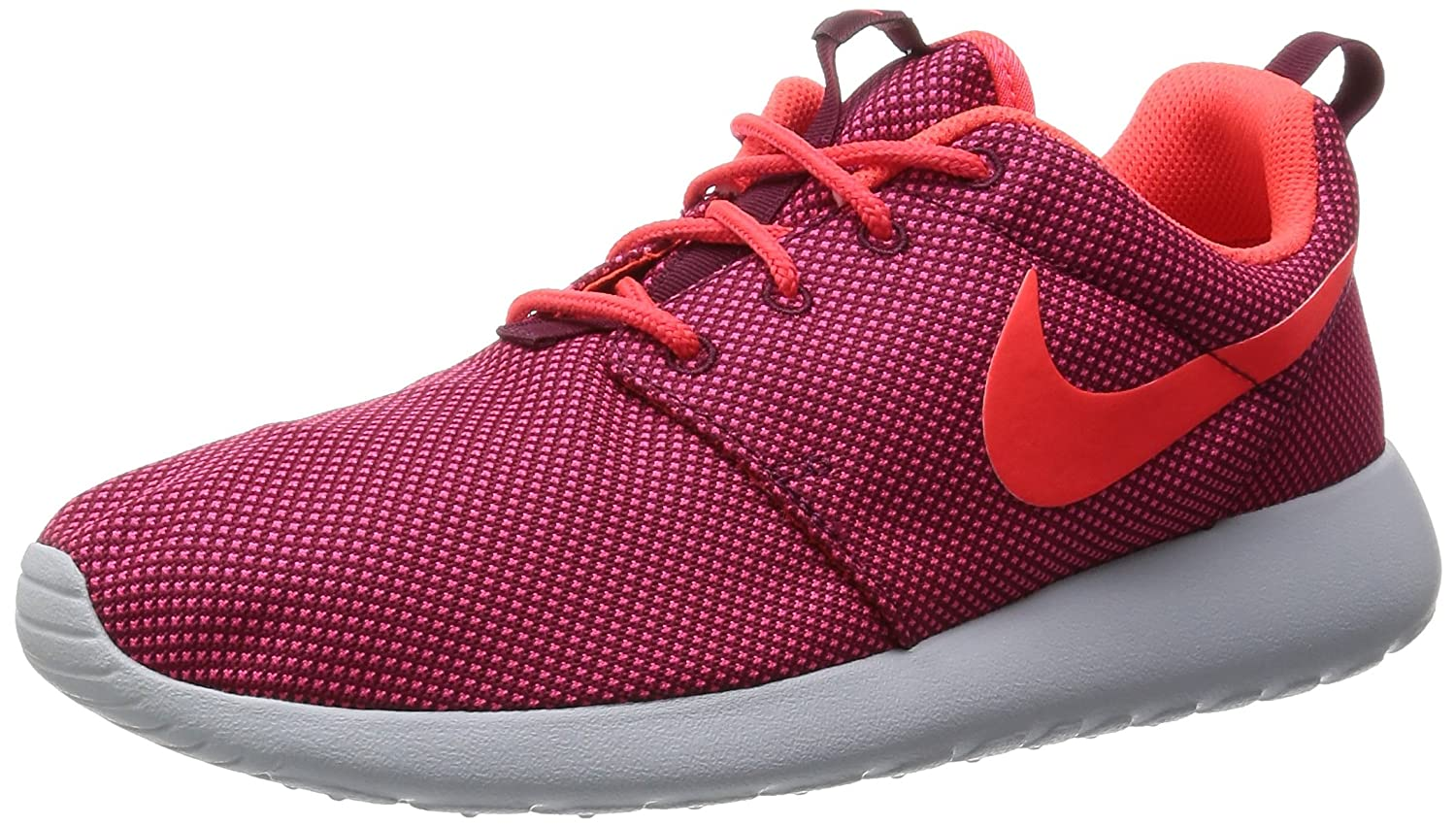 NIKE Women's Roshe One Running Shoe B00VF2Q5II 8M|Deep Garnet/Bright Crimson/Pure Platinum