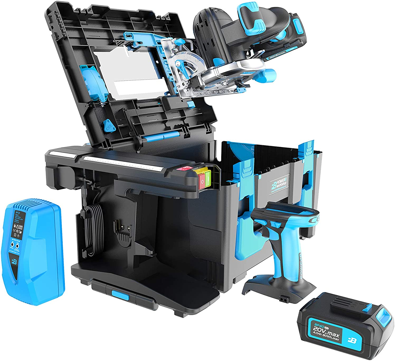 Power8 CEL POWER8 Create Plus, All-In-One Multi-function Combo Tool Kit, Armored Case & Accessories (P8-CP1)