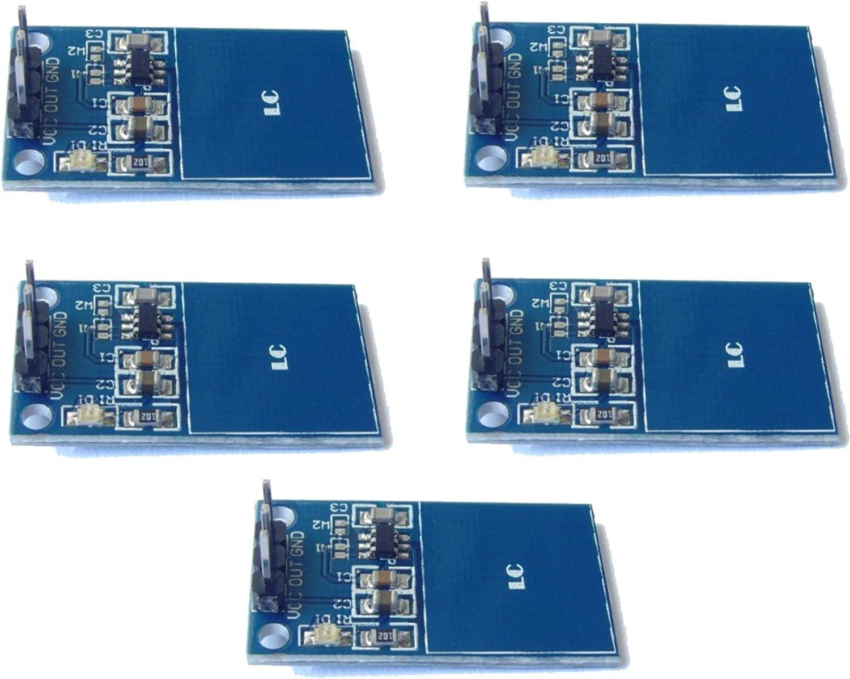 5pcs ttp223 módulo de Sensor táctil capacitivo Digital ...
